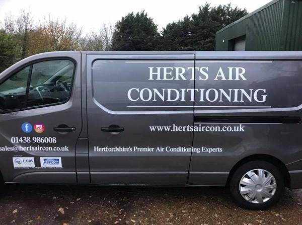 Herts Air Conditioning van