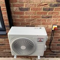 Mitsubishi split stype air conditioning